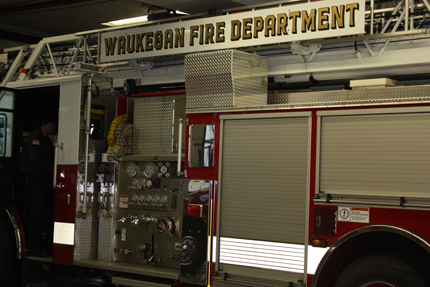 Waukegan Fire Department Fire Engine