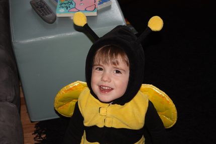 the happy bee!