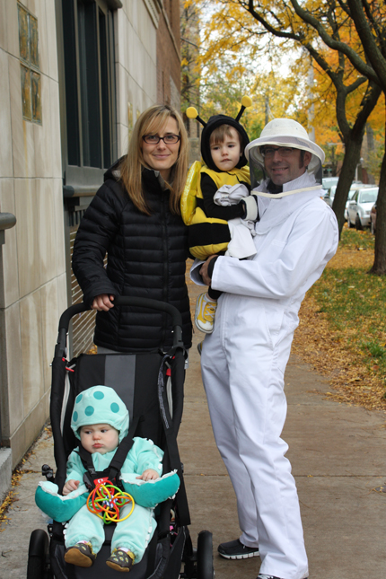 the bee, the beekeeper, octopus, and octo-mom