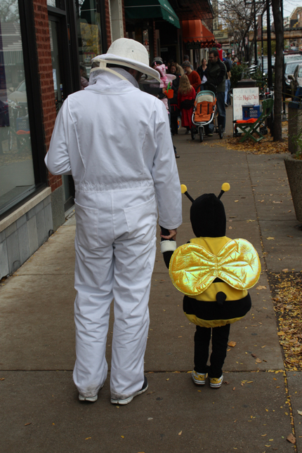 the bee and the beekeeper